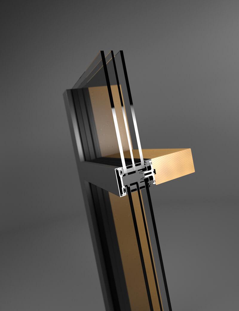 batimet - holz-aluminium | ausschreibungstexte, Moderne